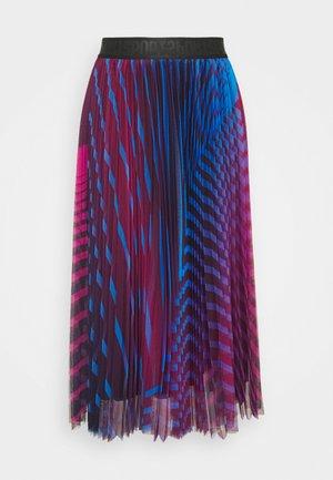 A-line skirt - suba blue