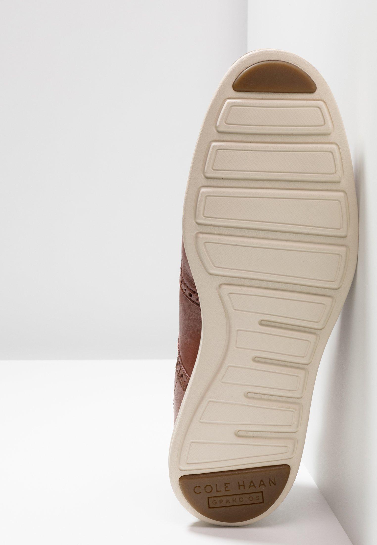 Meilleurs prix Cole Haan ORIGINAL GRAND WINGTIP OXFORD Chaussures à lacets woodbury/ivory