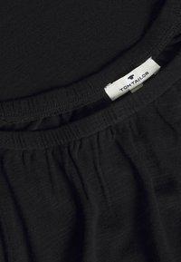 TOM TAILOR - CARMEN  - Basic T-shirt - deep black - 2