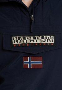 Napapijri - RAINFOREST - Windjack - blue marine - 6