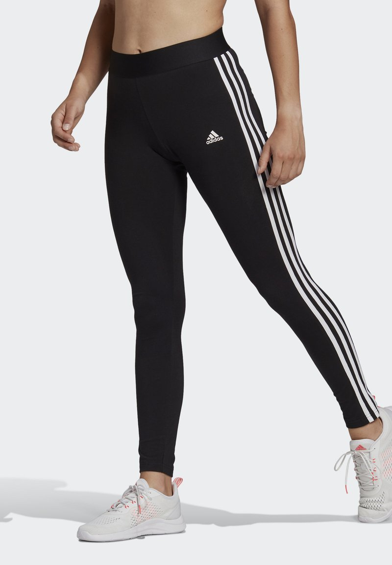adidas Performance - Collants - black/white