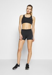 Nike Performance - AEROSWIFT SHORT - Tights - black/white - 1