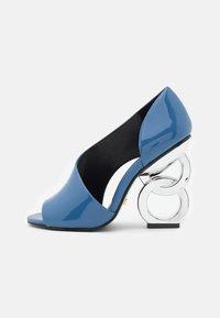 Kat Maconie - Peeptoe heels - slate - 1