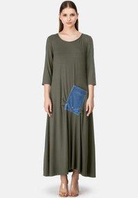 HELMIDGE - Maxi dress - khaki - 0