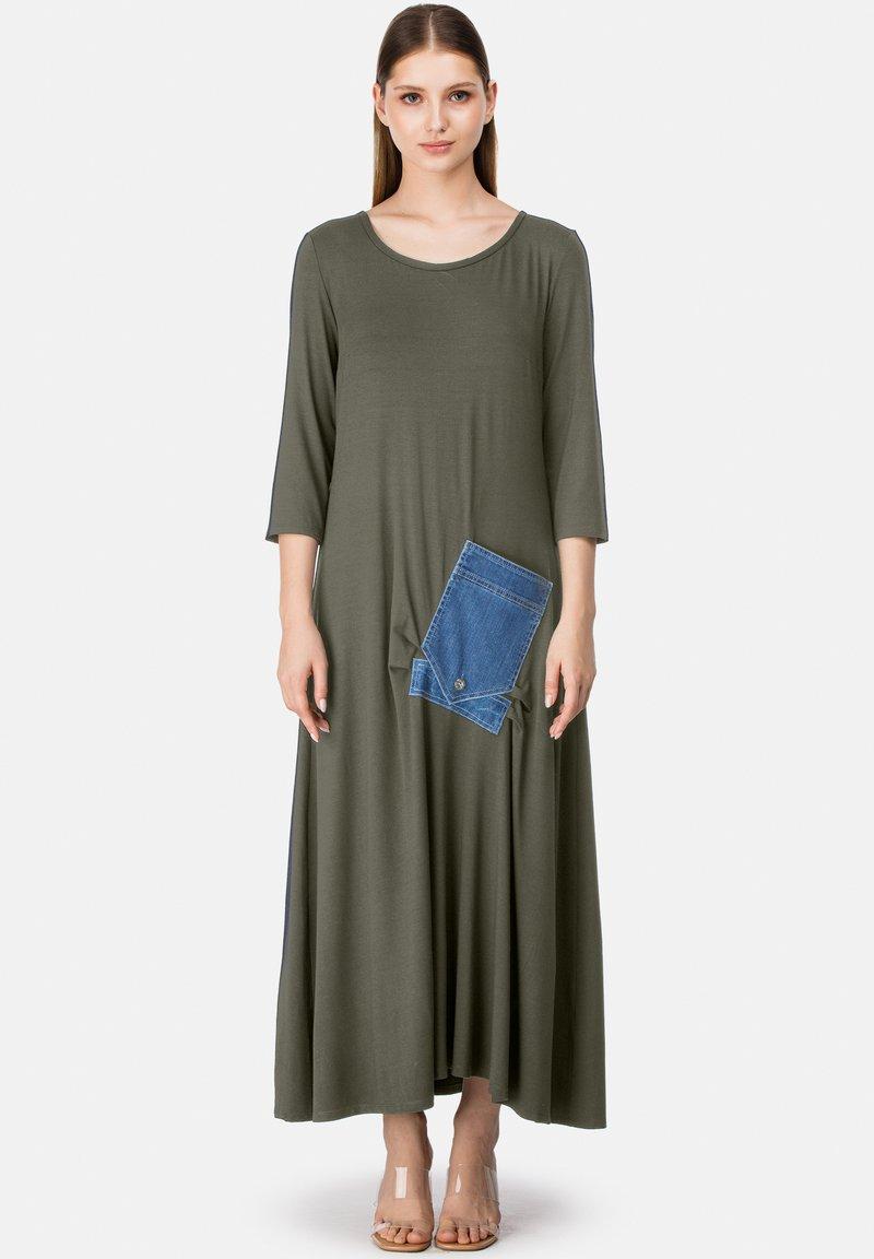 HELMIDGE - Maxi dress - khaki