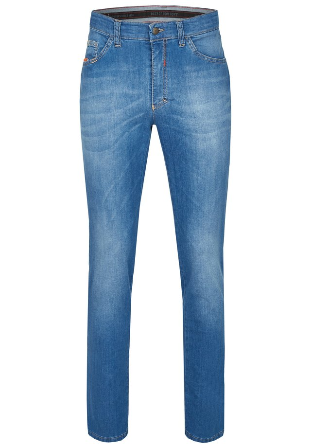 MIT HIGH-STRETCH - Slim fit jeans - hellblau 146