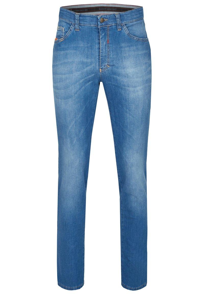 Club of Comfort - MIT HIGH-STRETCH - Slim fit jeans - hellblau 146