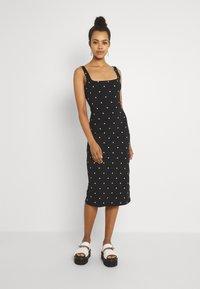 EDITED - QUINN DRESS - Jersey dress - black - 0