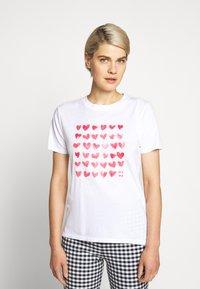 J.CREW - MOTHERS DAY TEE - Print T-shirt - white - 0