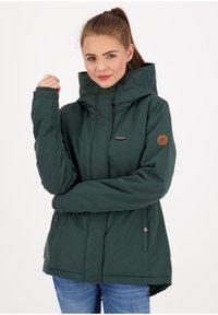 alife & kickin - NAOMIAK - Winter jacket - dark forrest - 0
