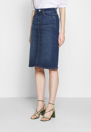 OCS SKIRT DENIM - Pencil skirt - blue medium wash