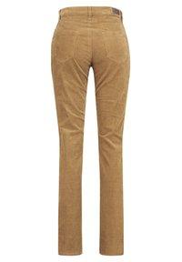 BRAX - MARY - Slim fit jeans - cognac - 1