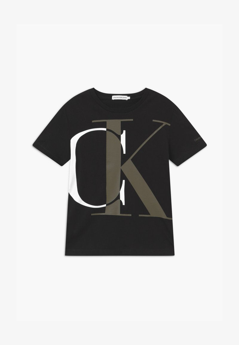 Calvin Klein Jeans - EXPLODED MONOGRAM - T-shirts print - black