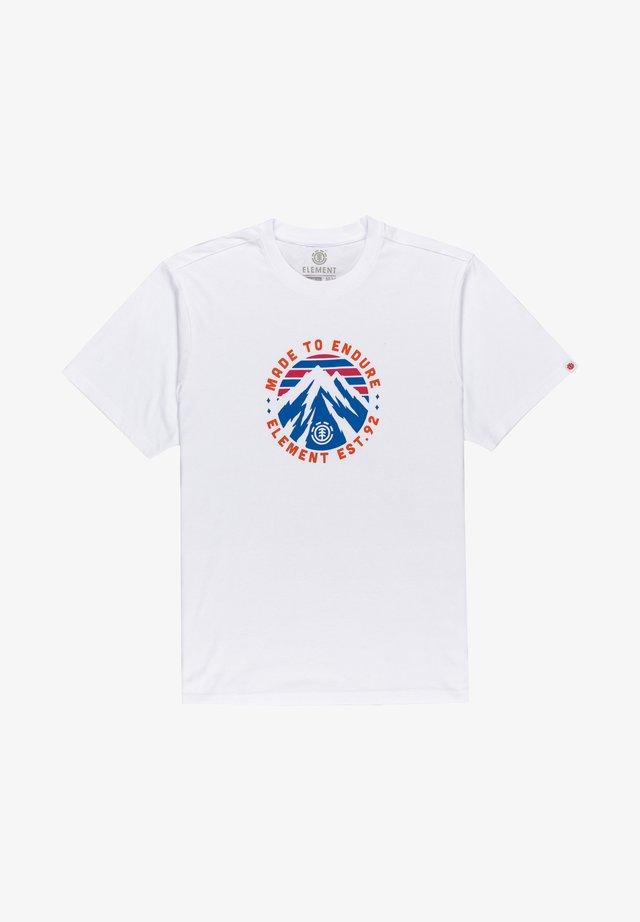 LYMONT - T-shirt imprimé - optic white