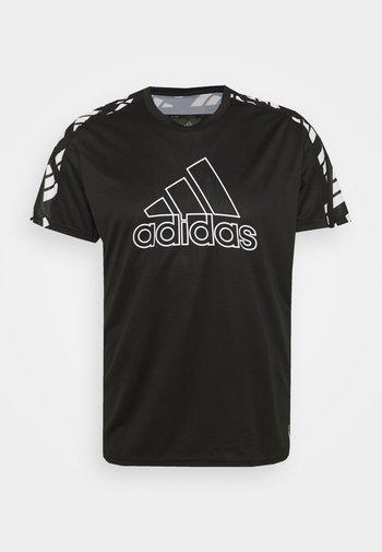 CELEB TEE  - T-shirt z nadrukiem - black/white
