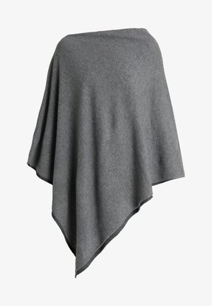 KRISTANNA - Poncho - medium grey