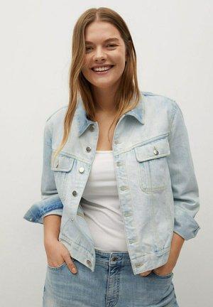 Veste en jean - bleach-blau