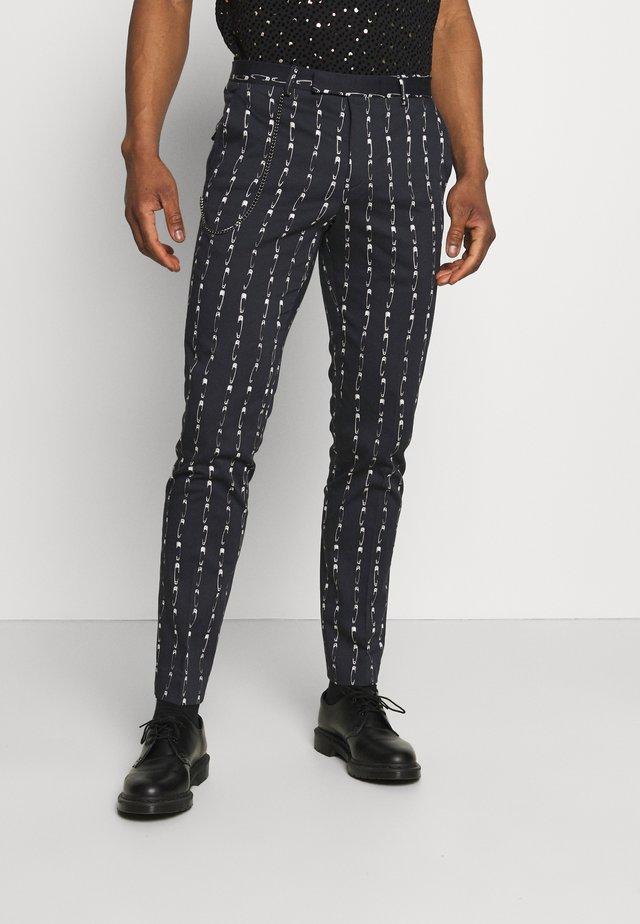SHERRICK - Pantalon classique - black