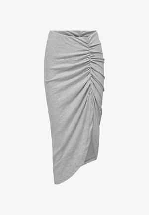 ASYMMETRISCH - Pennkjol - light grey melange