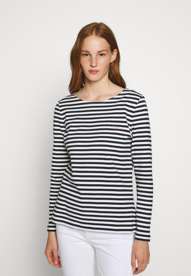 HAWKINS STRIPE - Pullover - navy