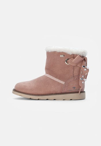 Classic ankle boots - old rose