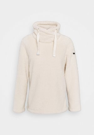 HANNELORE - Fleece jumper - lightvanilla