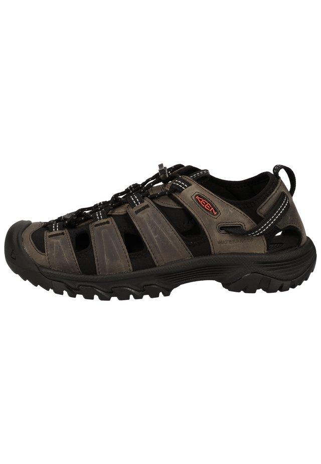 SANDALEN - Sandały trekkingowe - grey/black