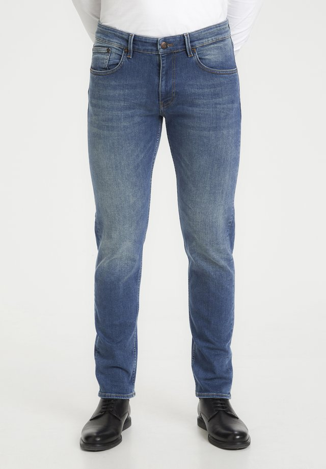 PRISTON - Jeans a sigaretta - medium denim