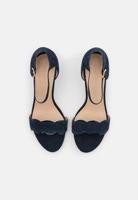 Anna Field Wide Fit - LEATHER - Sandals - dark blue - 5