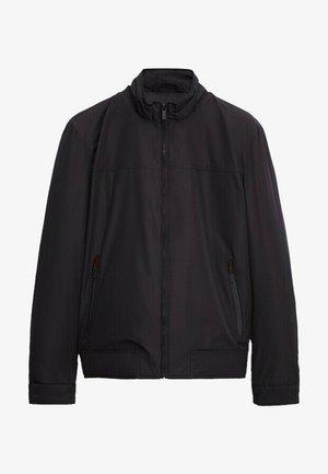 Winter jacket - blue black denim