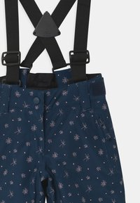 Ziener - AVATINE SLIM UNISEX - Snow pants - dark blue - 3