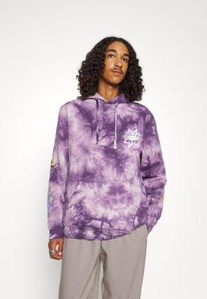 BEERUS WASHED HOOD - Collegepaita - purple