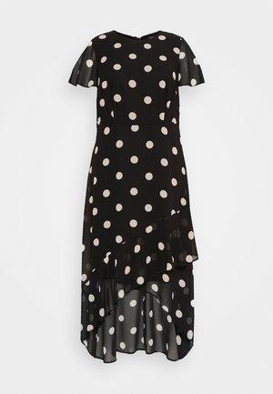 CURVE OCCASION SLEEVE HIGH LOW MAXI DRESS BLUSH SPOT - Maxi dress - multi
