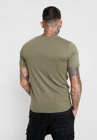 Jack & Jones - JCOBOOSTER TEE CREW NECK 2 PACK - T-shirt con stampa - maritime blue - 2