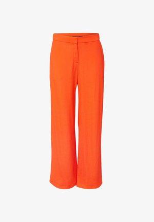 CRÊPE - Bukser - red orange
