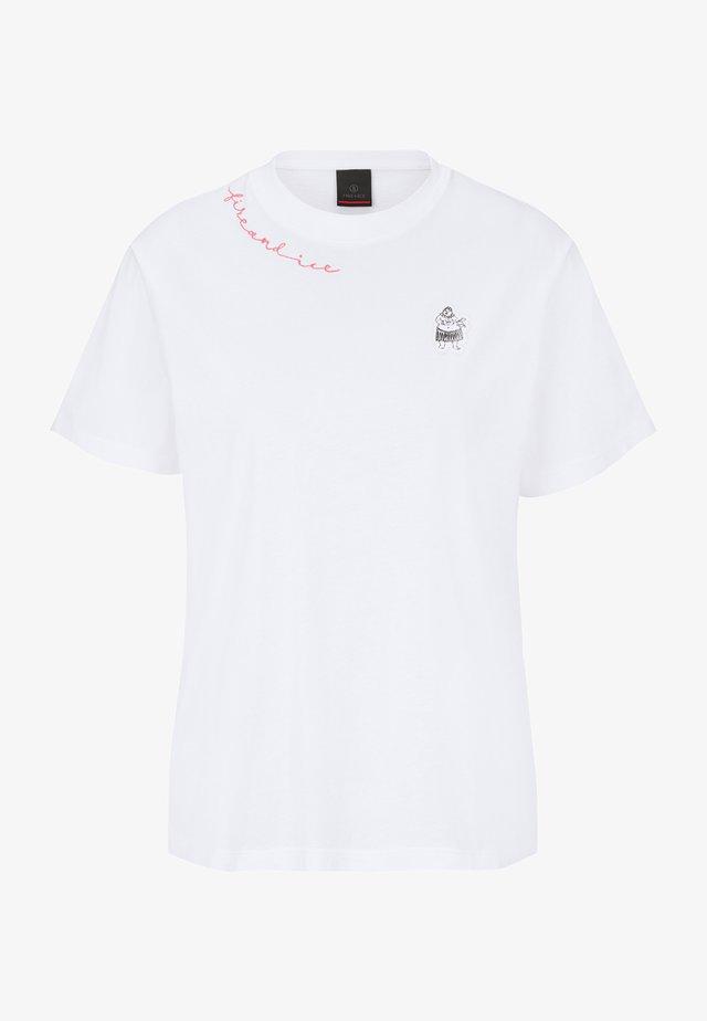 CARRIE - T-shirt imprimé - weiß
