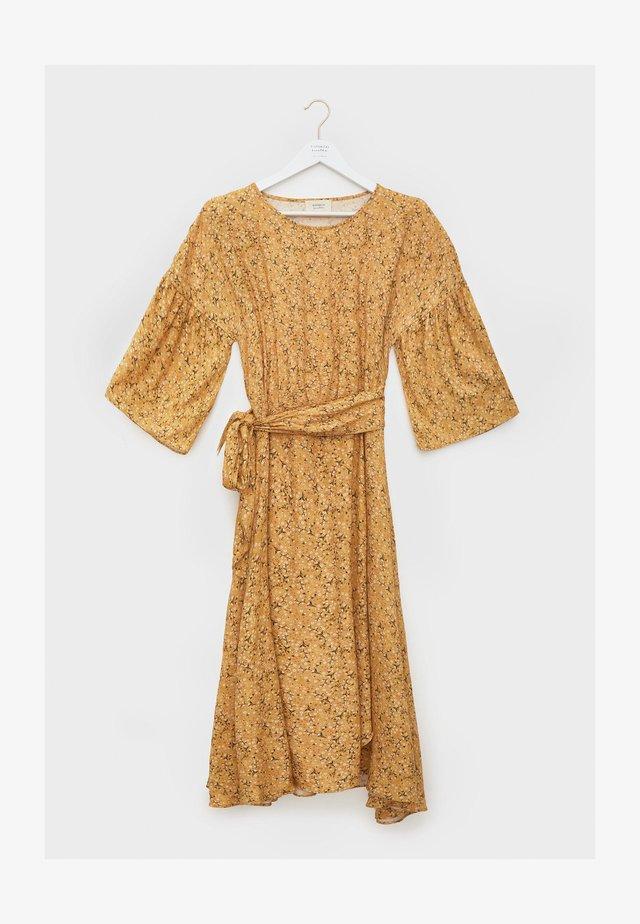 Korte jurk - amarillo