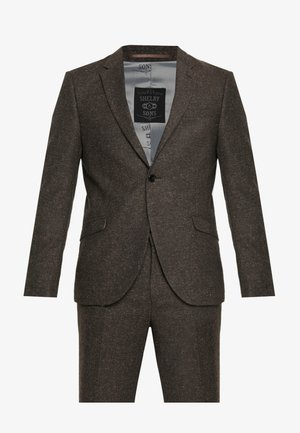 CRANBROOK SUIT - Completo - dark brown