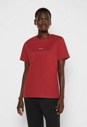 HOLZWEILER SUZANA - T-shirt basique - burgudy red