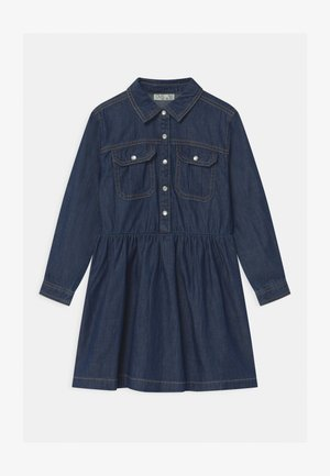 Vestido camisero - dark denim