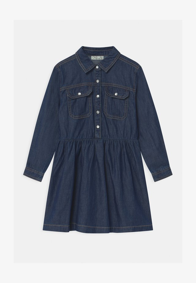 Abito a camicia - dark denim
