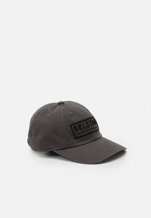BOX LOGO BASEBALL UNISEX - Cap - charcoal