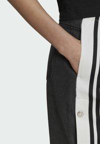 adidas Originals - Dry Clean Only xDENIM ADIBREAK - Flared jeans - black - 3