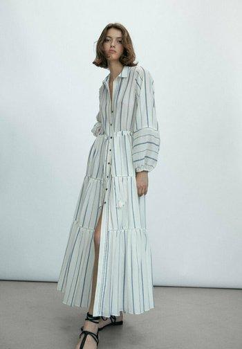 STREIFEN - Maxi dress - white