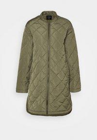 Lindex - COAT ANDREA - Classic coat - dark green - 0