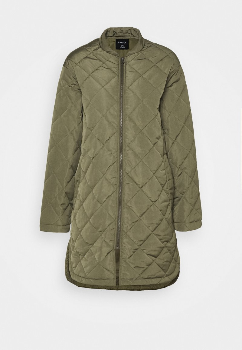 Lindex - COAT ANDREA - Classic coat - dark green