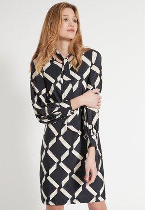 ETAWA - Jumper dress - schwarz-weiß
