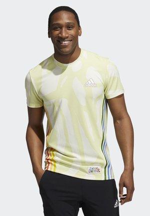 Sports shirt - multicolor/cream white/yellow tint