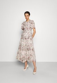 Needle & Thread - LUNETTE FLORAL SWAN ANKLE GOWN - Occasion wear - moonshine - 0