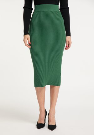 Pencil skirt - dunkelgrün